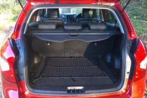 2014 SsangYong Korando interior boot