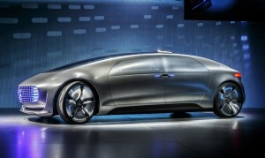 The Mercedes-Benz F 015 Luxury in Motion concept car