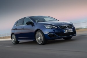 2015 Peugeot 308 GT exterior front right dynamic