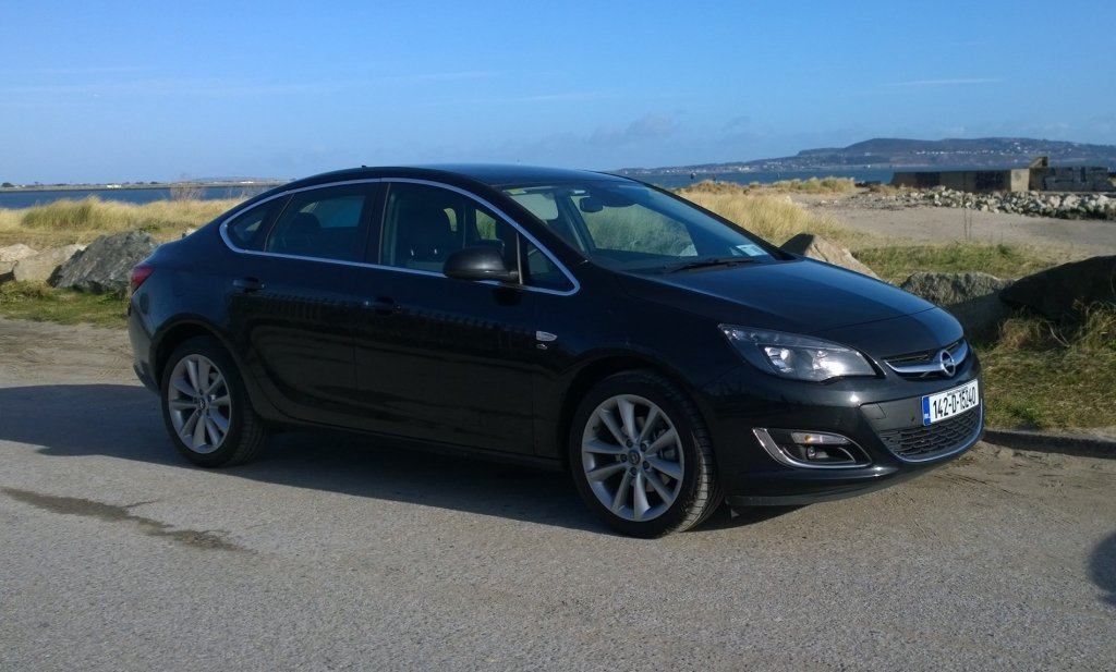 Opel Astra saloon exterior front right static