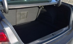 2014 Opel Astra saloon interior boot