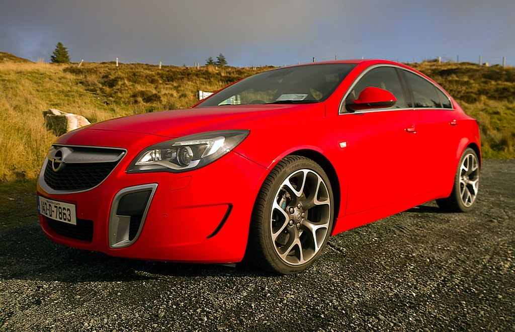 2014 Opel Insignia OPC exterior left front static