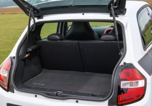 2014 Renault Twingo interior boot