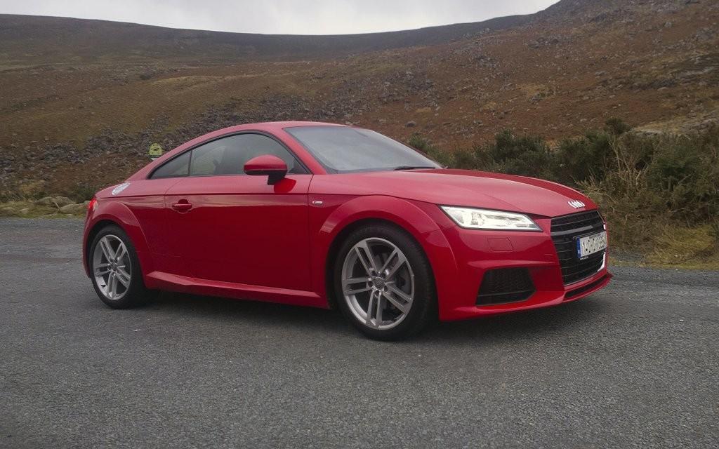 2015 Audi TT exterior right front static