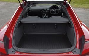 2015 Audi TT interior boot