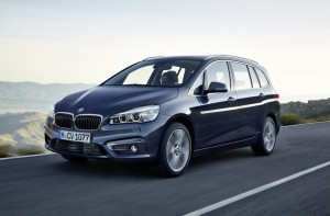 2015 BMW 2 Series gran tourer exterior front left dynamic