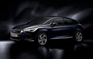 2015 Citroen DS 5 exterior front left static