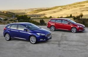 2015 Ford Focus exterior five-door estate static