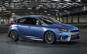 2015 Ford Focus RS exterior front static
