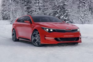2015 Kia Sportspace concept exterior front right static