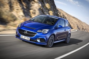 2015 Opel Corsa OPC exterior front left dynamic