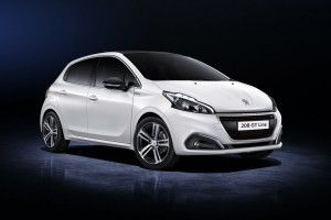 2015 Peugeot 208 GT exterior front right static