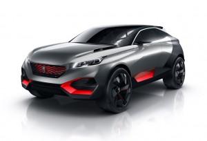 2015 Peugeot Quartz Plug-In Hybrid Concept