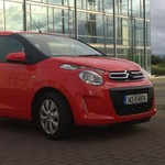 2014 Citroen C1 exterior front right static