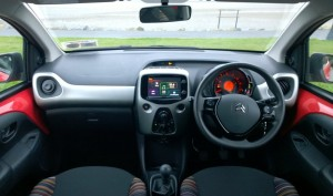 2014 Citroen C1 interior cockpit