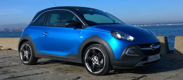 2014 Opel Adam Rocks exterior front right static