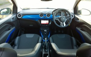 2014 Opel Adam Rocks interior cockpit